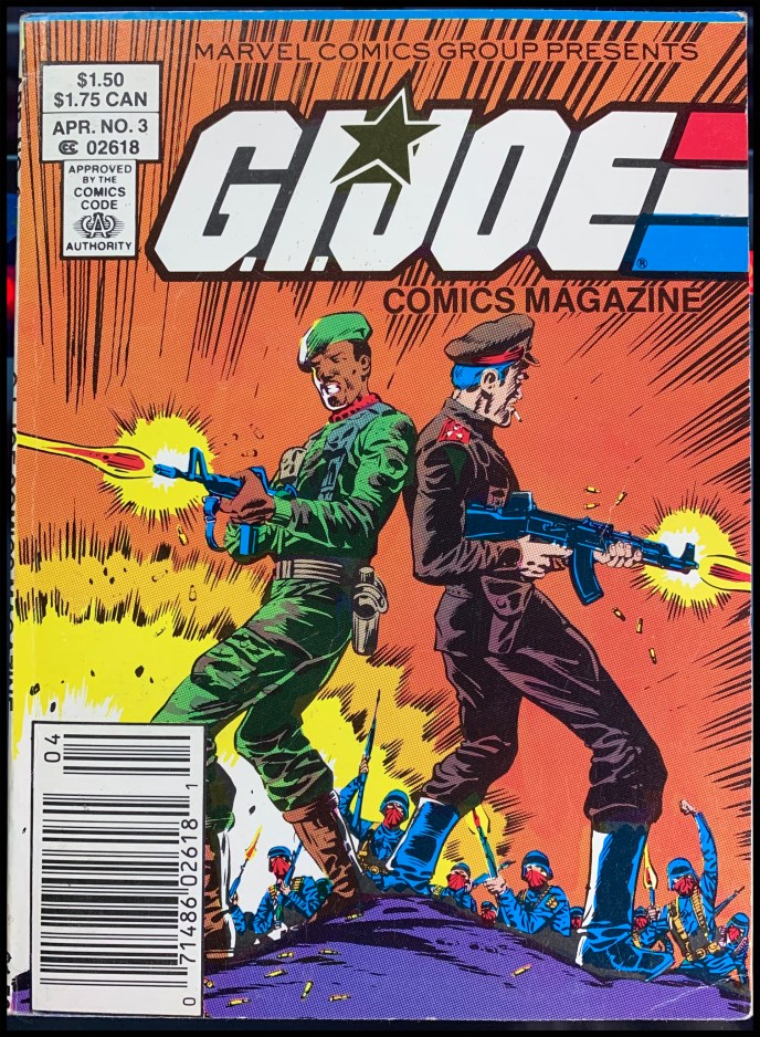G.I. Joe Comics Magazine #3