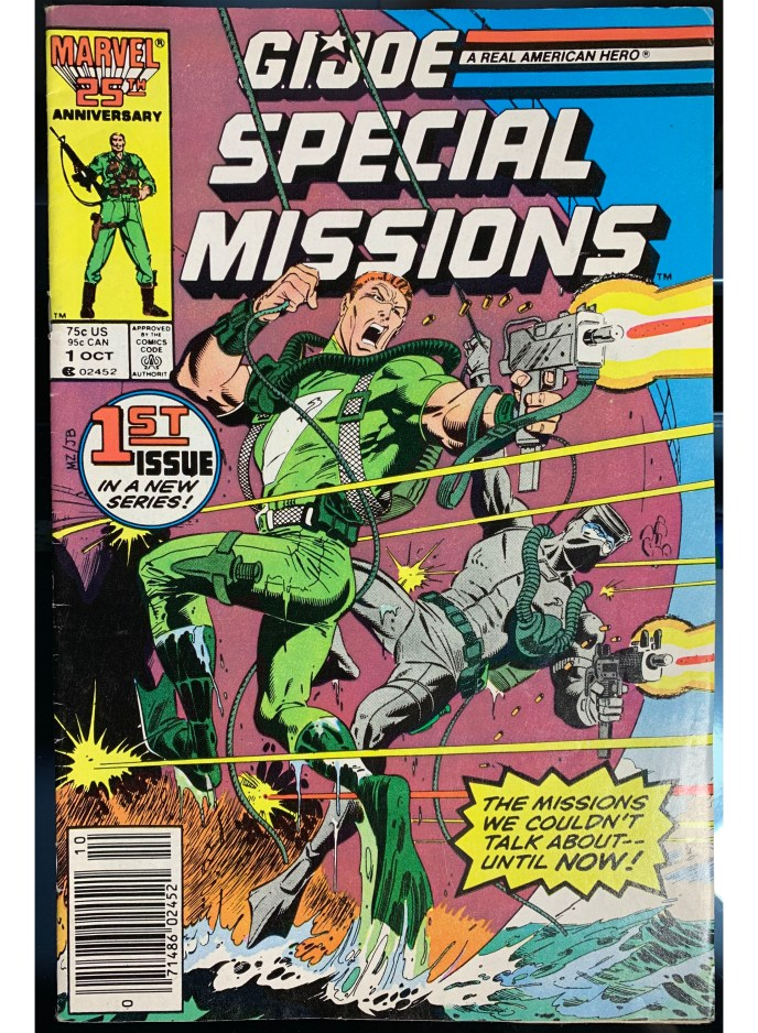 G.I. Joe Special Missions #1 comic book