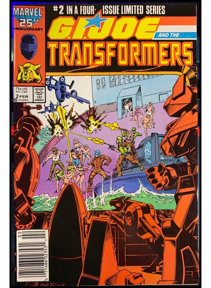 G.I. Joe and the Transformers #2