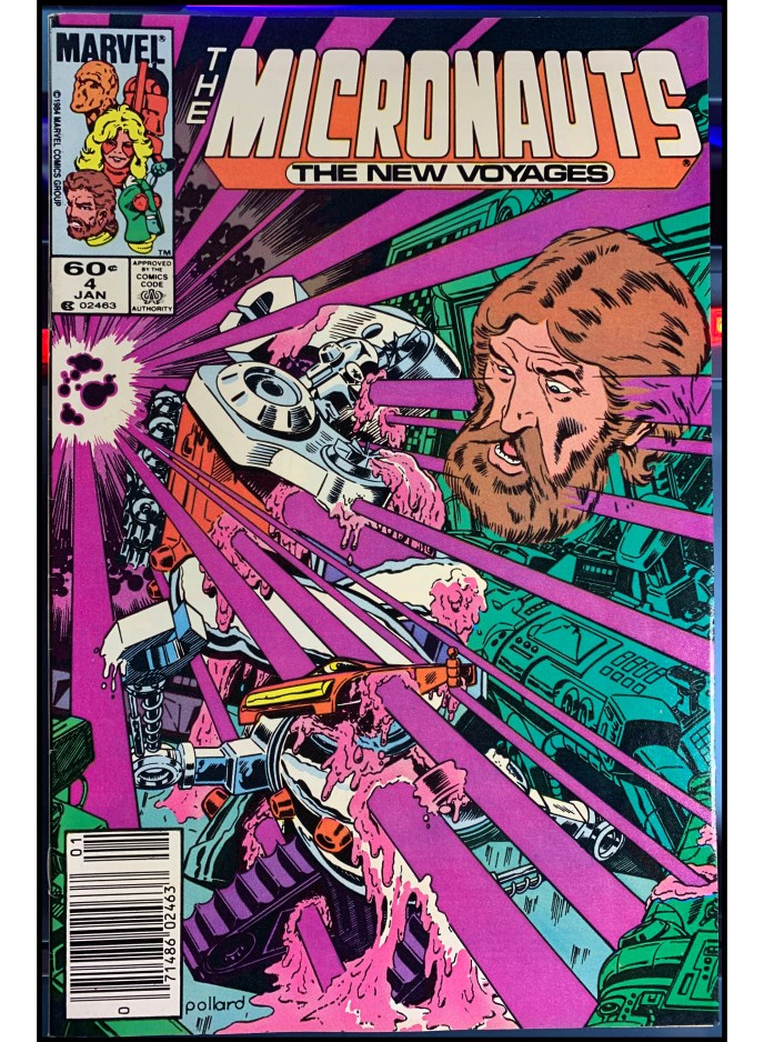Micronauts The New Voyages #4