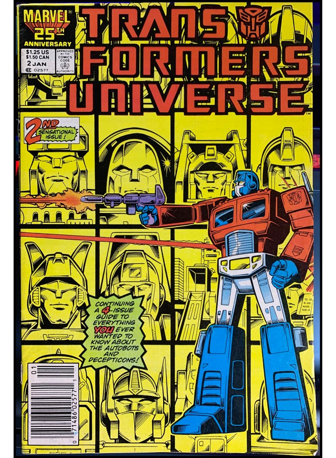 Transformers Universe #2