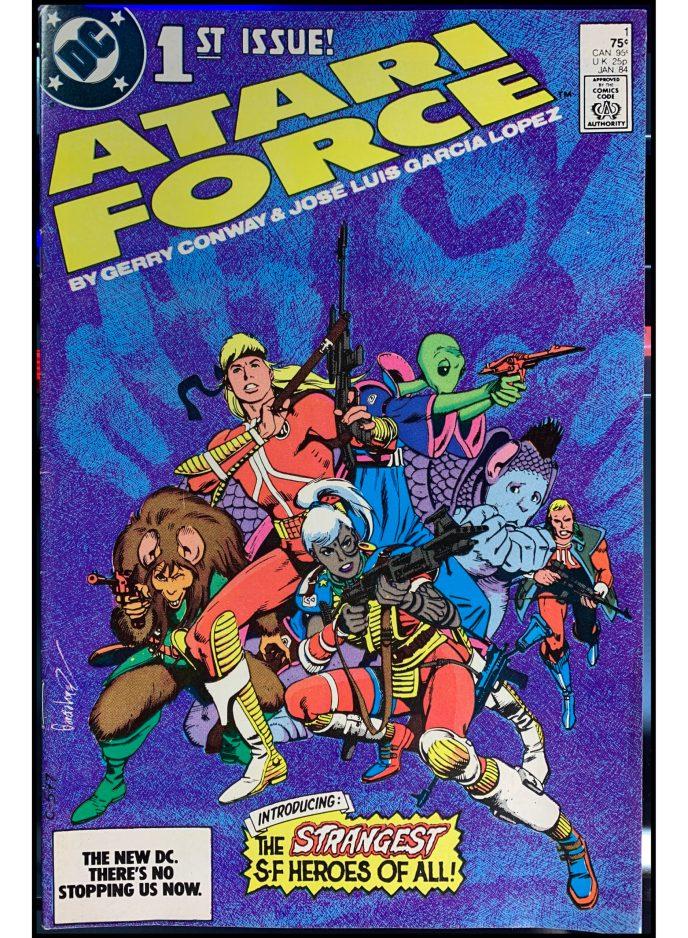 Atari Force (1984) #1