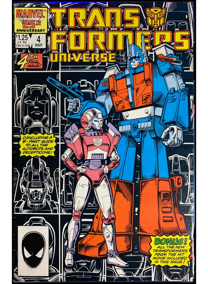 Transformers Universe #4