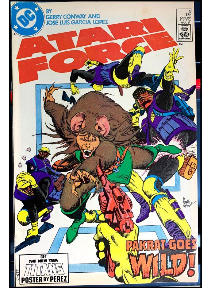 Atari Force (1984) #3