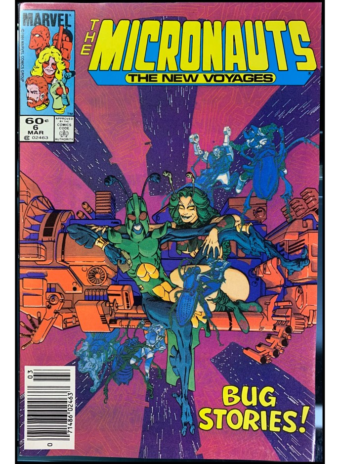 Micronauts The New Voyages #6