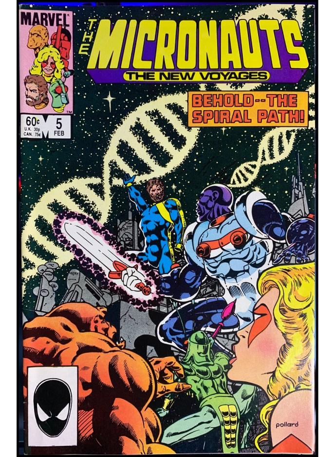 Micronauts The New Voyages #5
