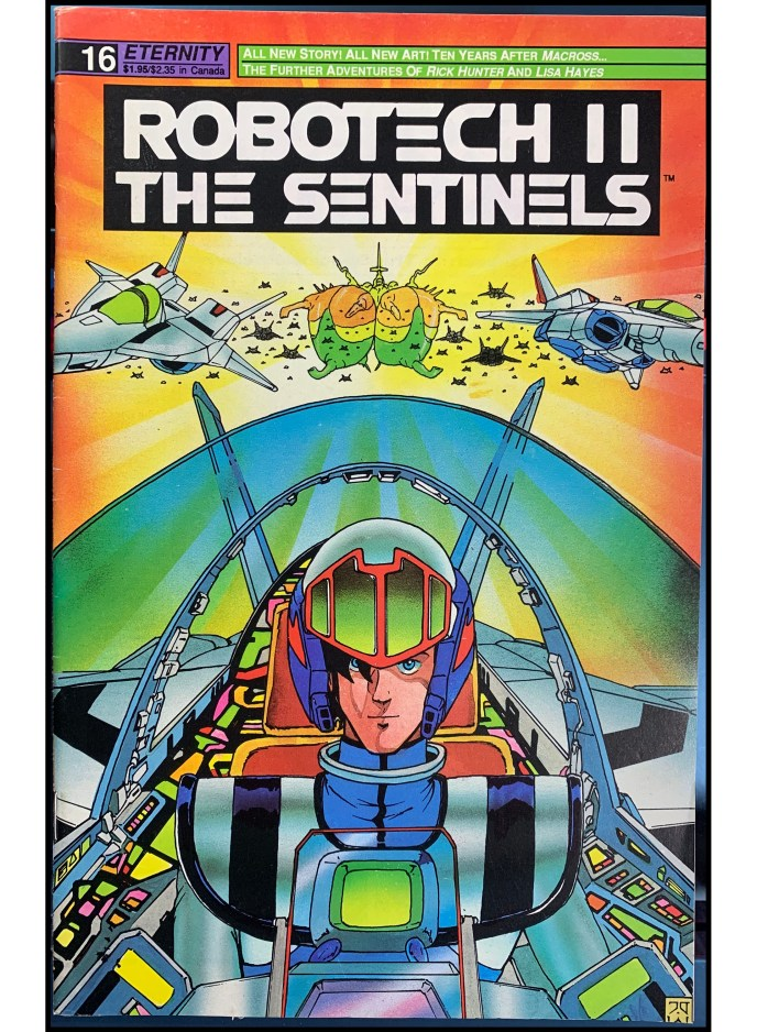 Robotech II: The Sentinels #16