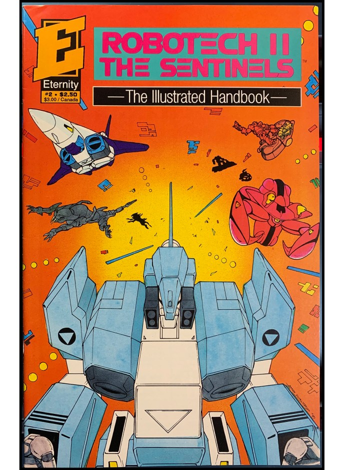 Robotech II: The Sentinels Illustrated Handbook #2