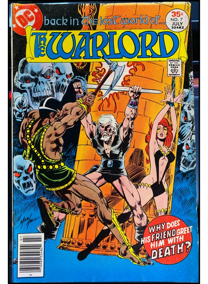 The Warlord #7