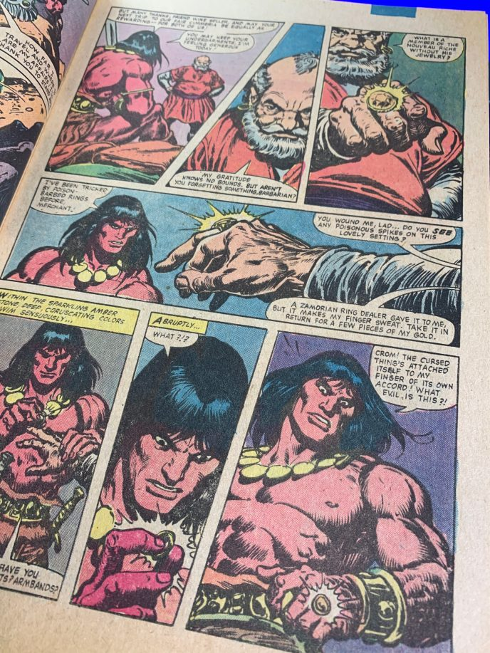 Conan the Barbarian #131 page scan 2