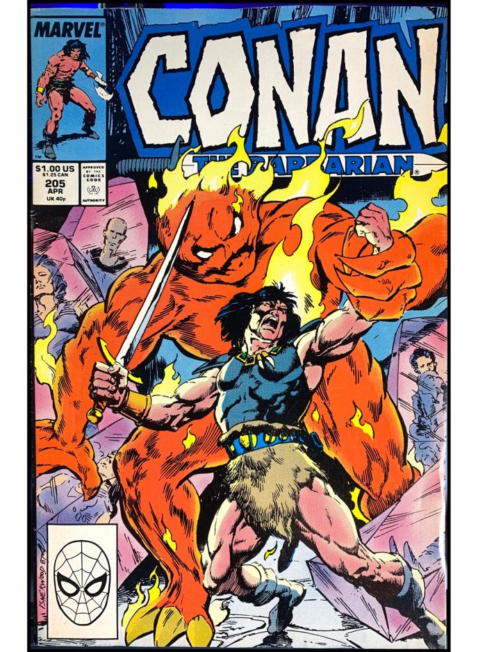 Conan the Barbarian #205