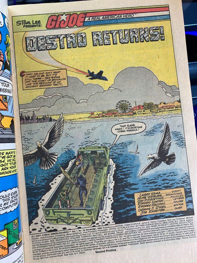 G.I. Joe Comic Book 18 image 1