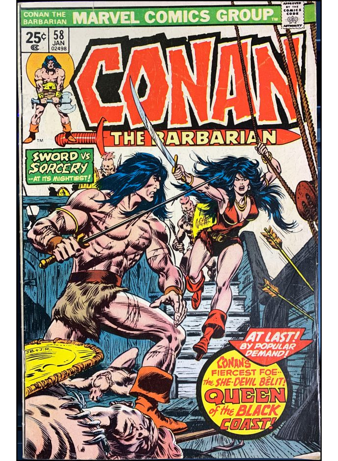 Conan the Barbarian #58