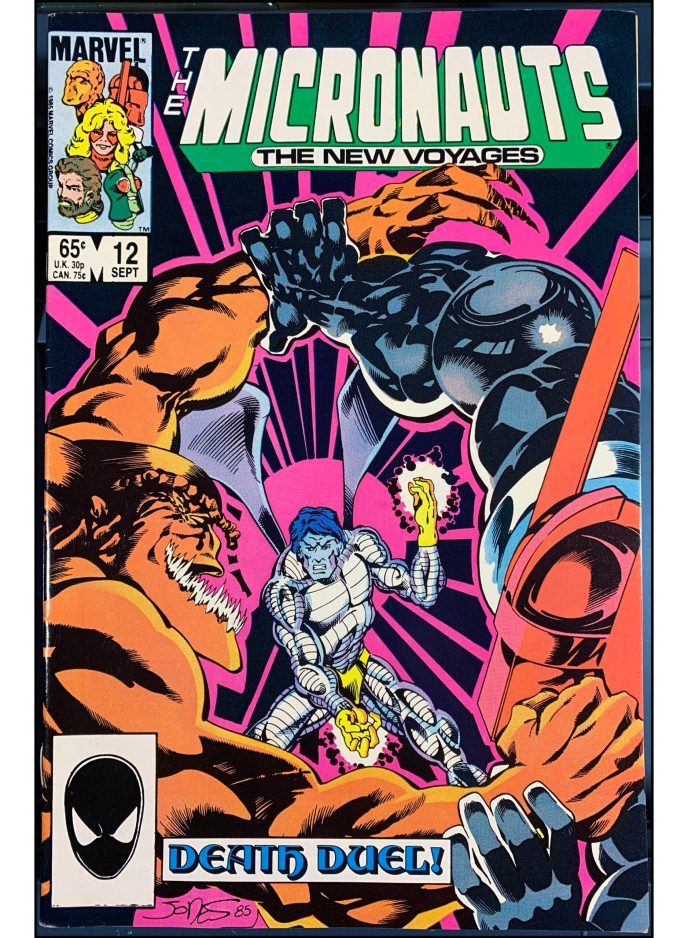 Micronauts: The New Voyages #12