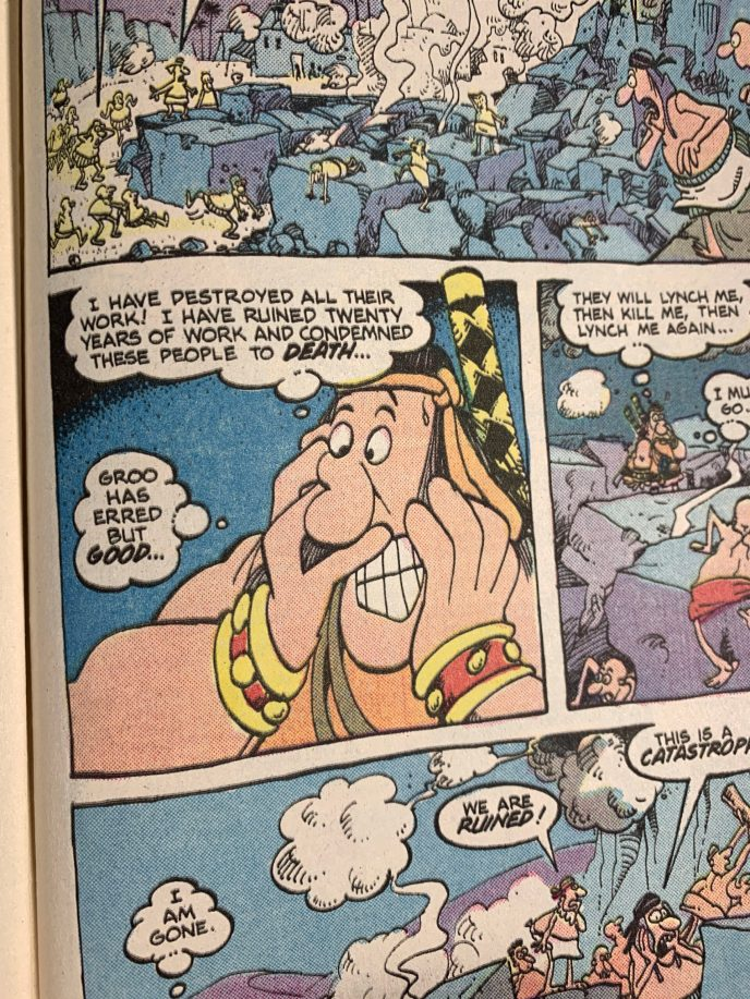 Groo the Wanderer 14 page scan 6