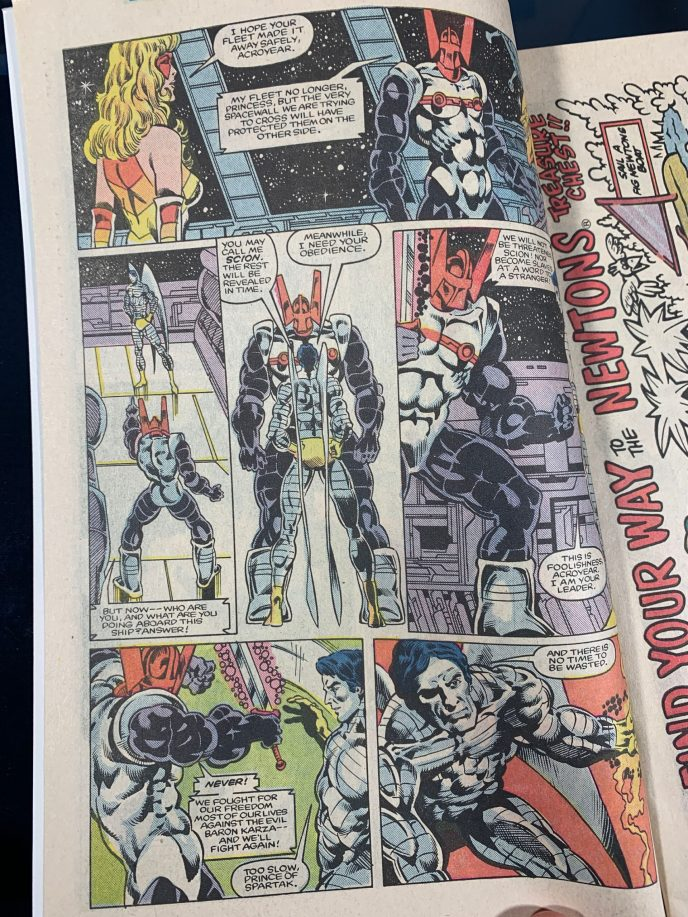 Micronauts The New Voyages #12 Image 2