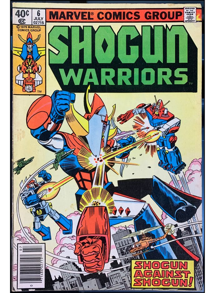 Shogun Warriors #6