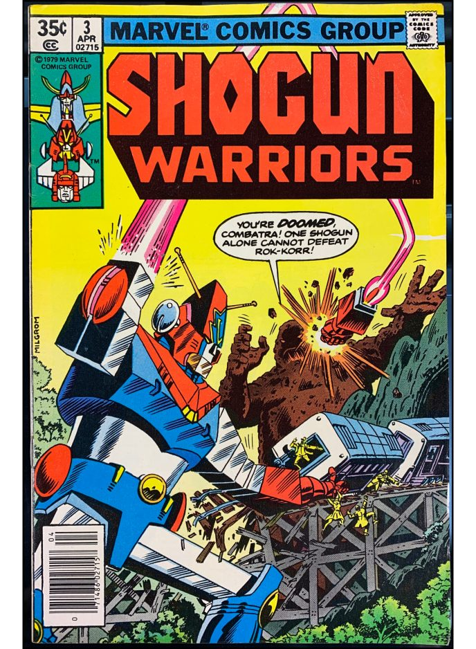 Shogun Warriors #3