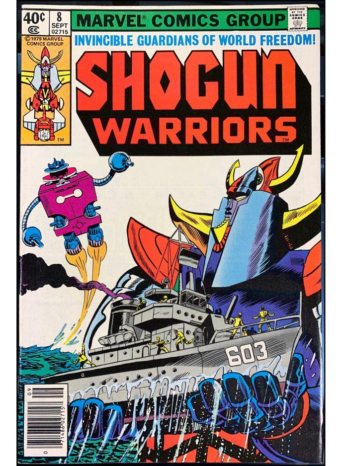 Shogun Warriors #8