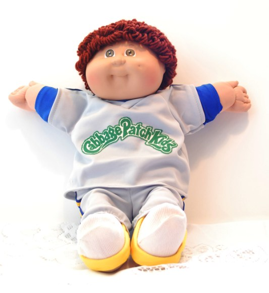 80s Cabbage Patch Kid-Boy in CPK Sweats | 80s Retro Place (WordPress.com/80sRetroPlace)