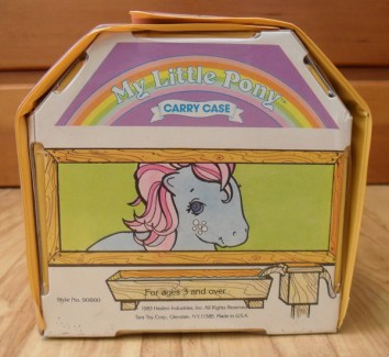 My Little Pony Carry Case: Bowtie Side