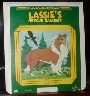 """Lassie's Rescue Rangers"" Videodisc   80sretroplace.wordpress.com"