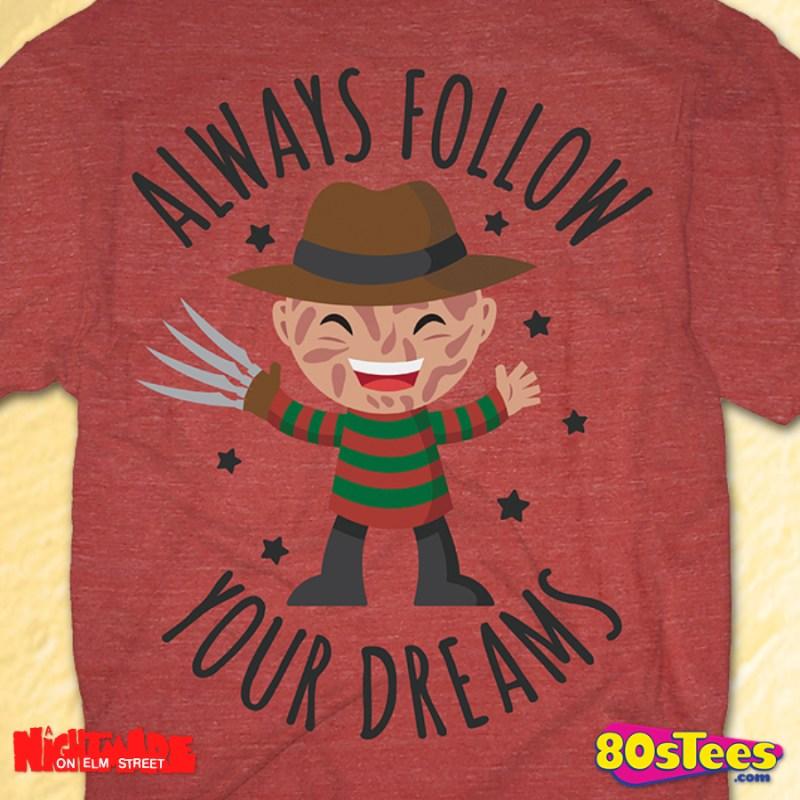 Freddy Krueger T Shirt Nightmare On Elm Street Mens T Shirt