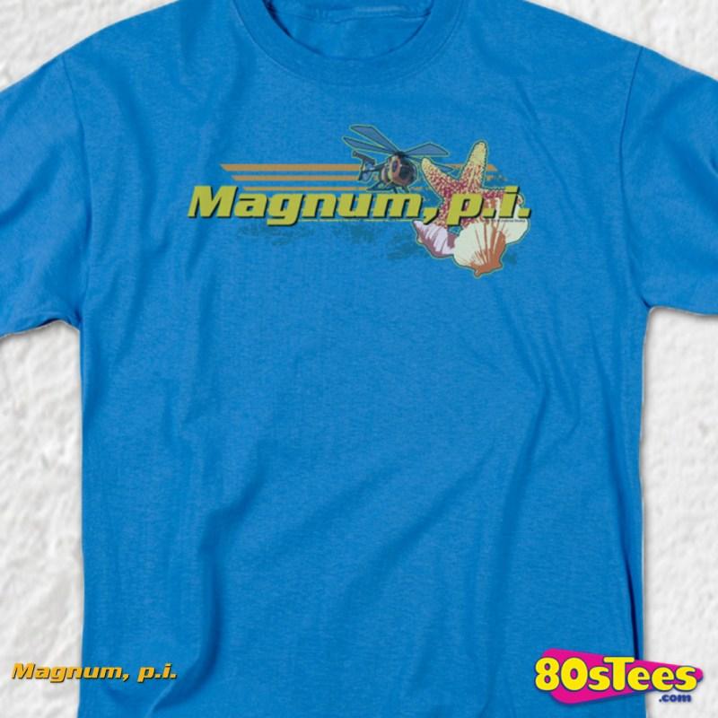6aa09b12b Tshirt Adult Sizes Fun 80s Tv · Island Hoppers Magnum Pi T-shirt Mens