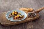 ALTERNATIVE PULSE - Black Lentil Peach toasts McCormick Christy Brissette 80 Twenty Nutrition