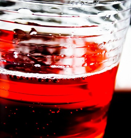 Cranberry Raspberry Infused Water