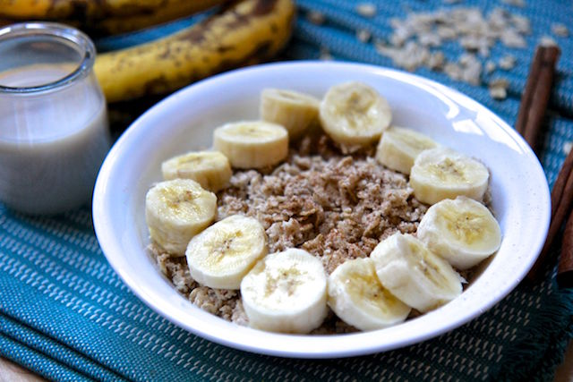 Banana Bread Proats in the Microwave- Vegan and Gluten-Free!