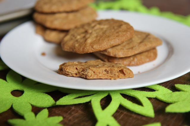 3 Ingredient Peanut Butter Cookies – Vegan, Gluten-Free & Low Carb!