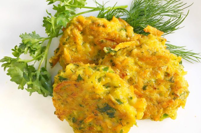 Parsnip Fritters with Sweet Potato and Zucchini – Gluten-Free and Paleo!