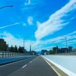 名阪国道 国道R25号線 三重~奈良の高速バイパス道路を4tトラックで