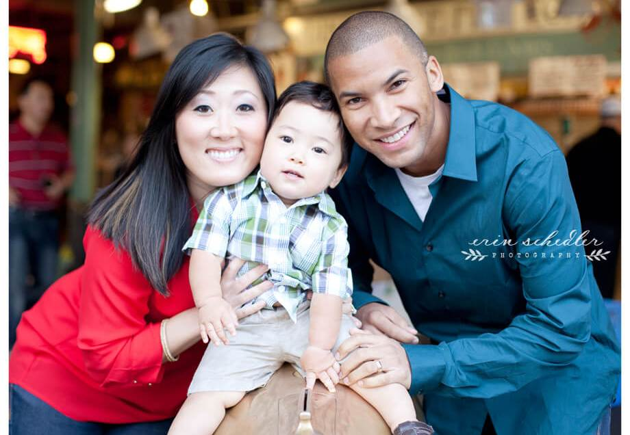 T Family Session | Pike Place Market
