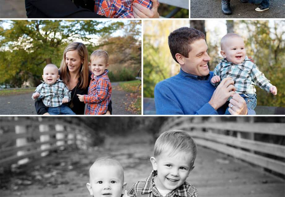 J Family Fall Session | Seattle Arboretum