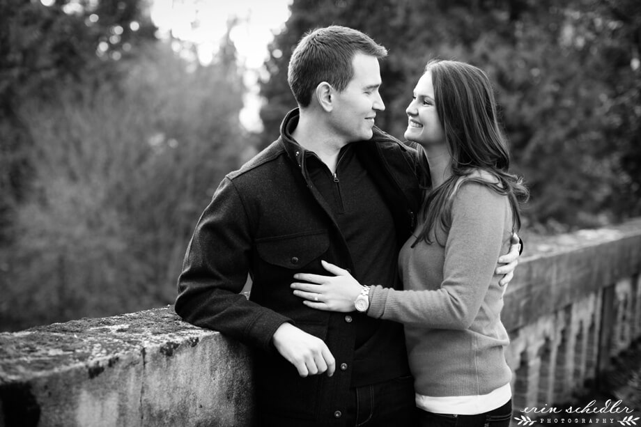 Becky + Jeremy | Engagement Session at Montlake Cut