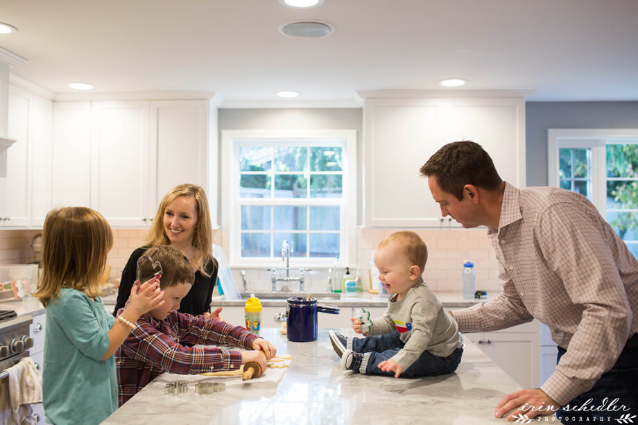 K Family // Seattle Lifestyle Photography Session at Home