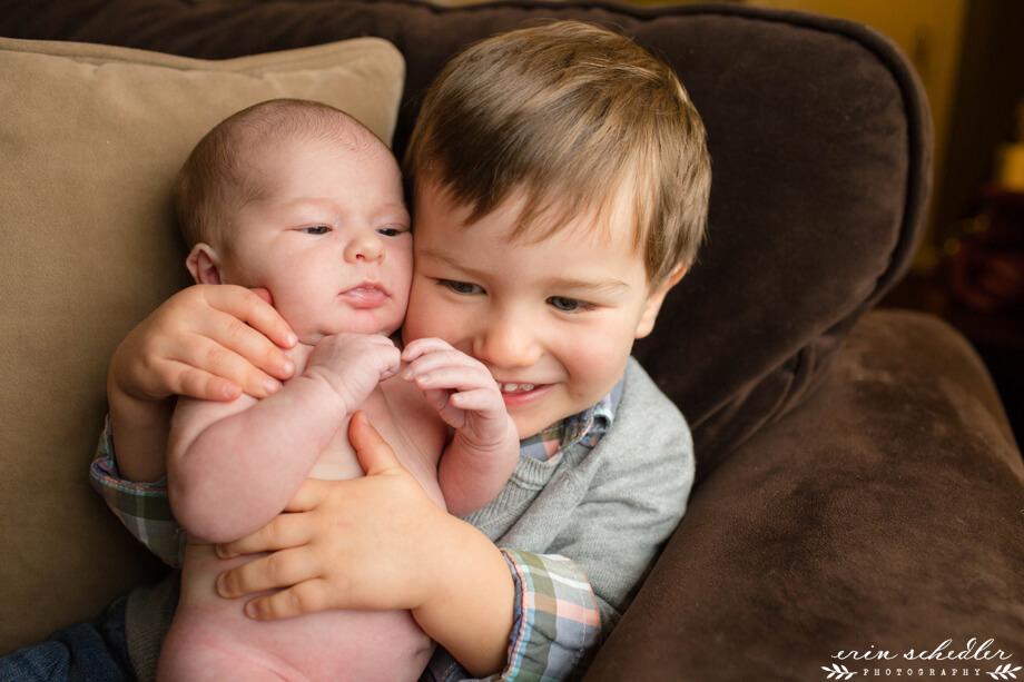 Henrietta // Seattle Lifestyle Newborn Photographer
