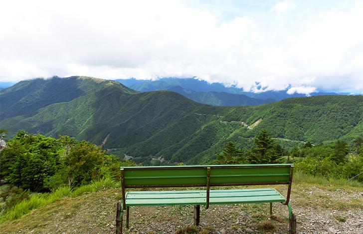登山リフト西島駅からの景色