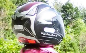 カブトのジェットヘルメット