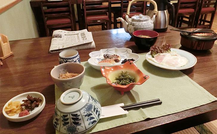 津和野・原田屋の朝食