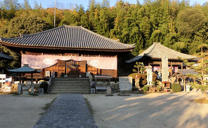四国八十八カ所霊場第49番浄土寺