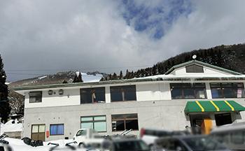 鳥取・花見山スキー場・駐車場