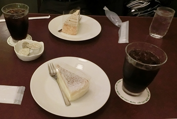シャノアール・ケーキセット