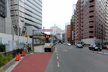 横浜市馬車道地下駐車場