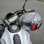 MT-07ヘルメットホルダー