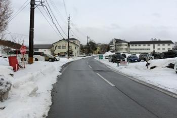 菅平高原スノーリゾート・駐車場