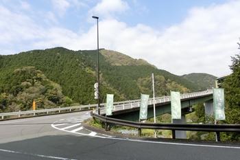 河津七滝ループ橋の近く
