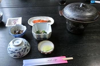 十和田湖・春山荘・朝食